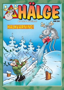 HÄLGE ALBUM 24 – HALKVARNING!