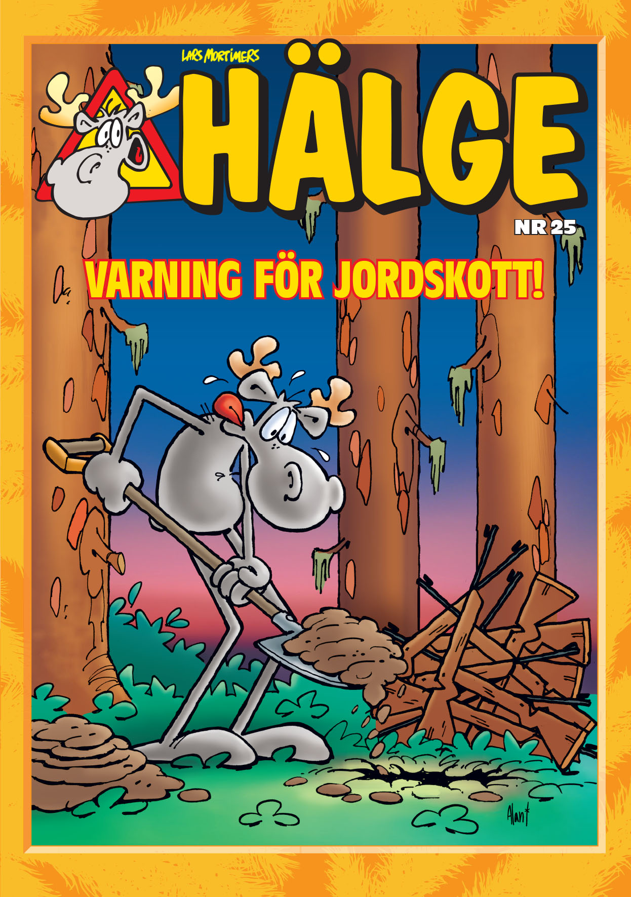 HÄLGE ALBUM 25 – VARNING FÖR JORDSKOTT!