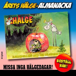 Hälge - Almanacka 2020