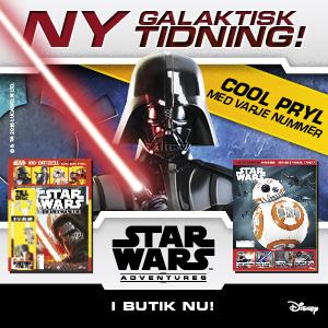 Star Wars Adventures i butik nu!